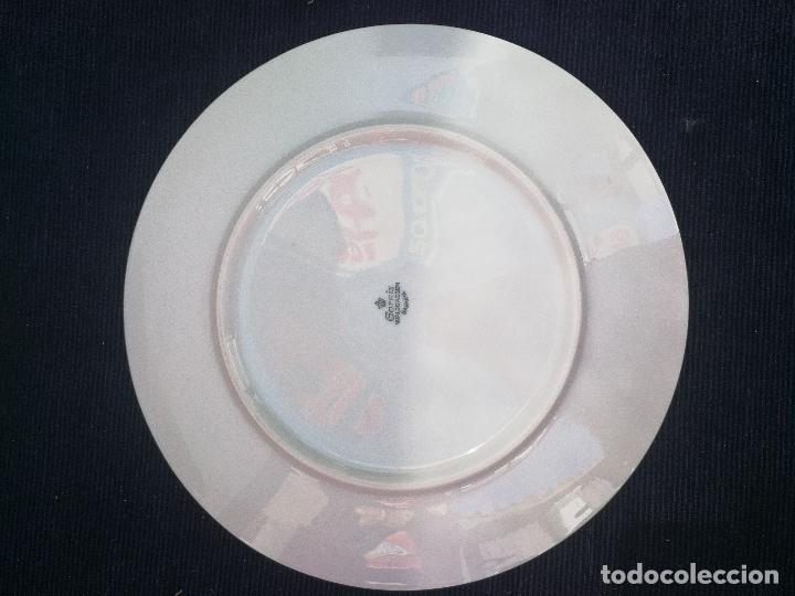 Antigüedades: JUEGO ANTIGUO DE 6 PLATOS LLANOS EN PORCELANA DE BAVARIA SELLADOS - Foto 4 - 122468439