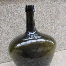 Antigüedades: BELLA Y RARA DAMAJUANA GARRAFON DE 3.5 L, 1.5KG, LIMPIA, HACIA 1950 29CM ALTURA. BIEN CONSERVADA + . Lote 122485047