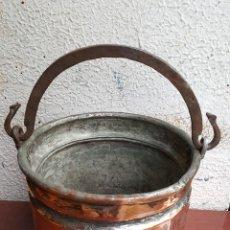 Antigüedades: CALDERA DE COBRE. Lote 122522315