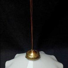 Antigüedades: LAMPARA DE TECHO. Lote 122458499