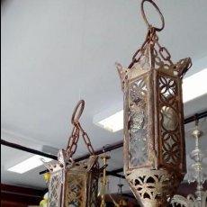 Antigüedades: FAROLES ARABES -. Lote 122460627