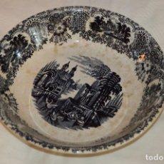 Antigüedades: VINTAGE - ANTIGUA BANDEJA / FUENTE / ENSALADERA - LA CARTUJA PICKMAN - ENVÍO 24H - LOTE Nº1. Lote 122560223