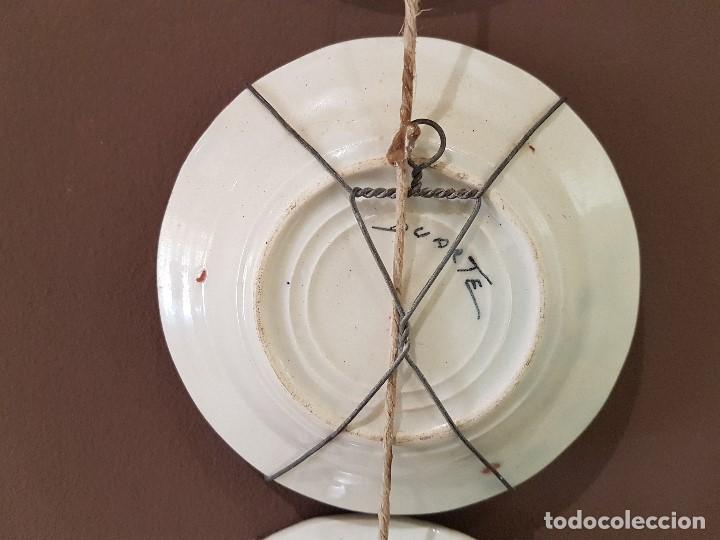 Antigüedades: 8 PLATOS ANTIGUOS DE DUARTE, CON REFRANES. TAL CUAL SE VEN. - Foto 10 - 122594227