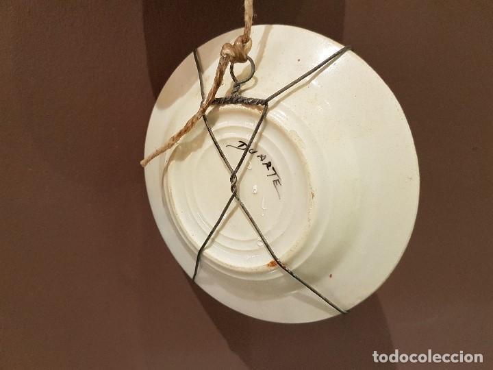 Antigüedades: 8 PLATOS ANTIGUOS DE DUARTE, CON REFRANES. TAL CUAL SE VEN. - Foto 14 - 122594227