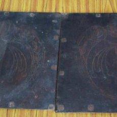 Antigüedades: 2 CULOS DE MADERA PRENSADA ESTILO ARDECOT . Lote 122611723