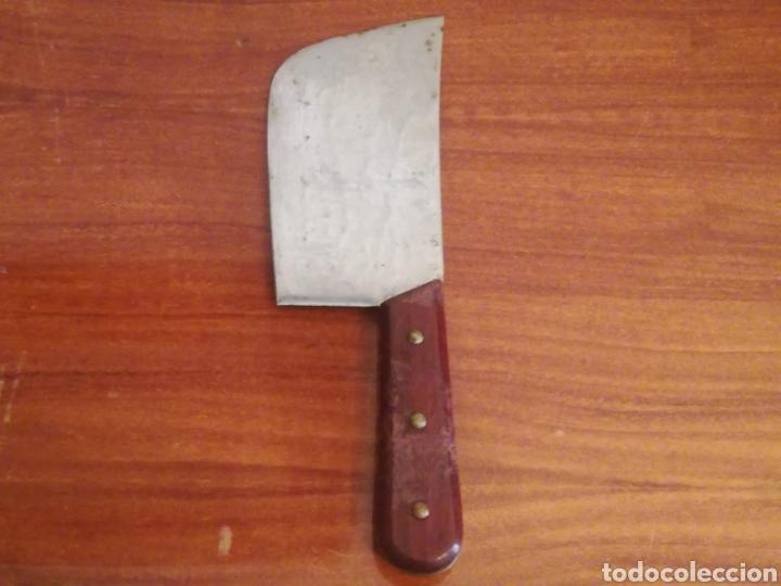 Antigüedades: Antigua Macheta - Cuchillo de cocina - Carniceria - Foto 4 - 122668784
