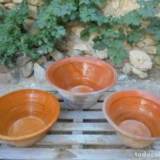 Antigüedades: ANTIGUOS BARREÑOS DE MATANZA (PRECIO POR UNIDAD). Lote 122685167
