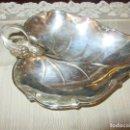 Antigüedades: BANDEJA- HOJA DE PLATA. Lote 122698607