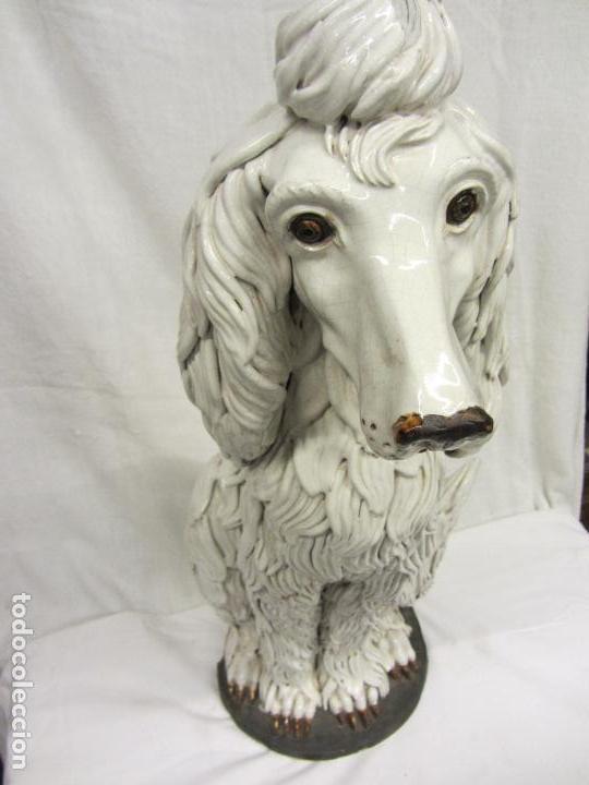 Antigüedades: Perro de gran tamaño en ceramica - Foto 5 - 122706927