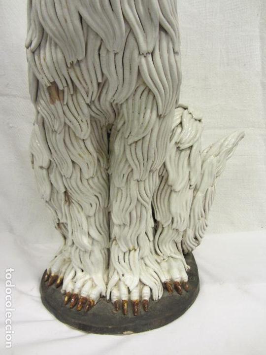 Antigüedades: Perro de gran tamaño en ceramica - Foto 7 - 122706927