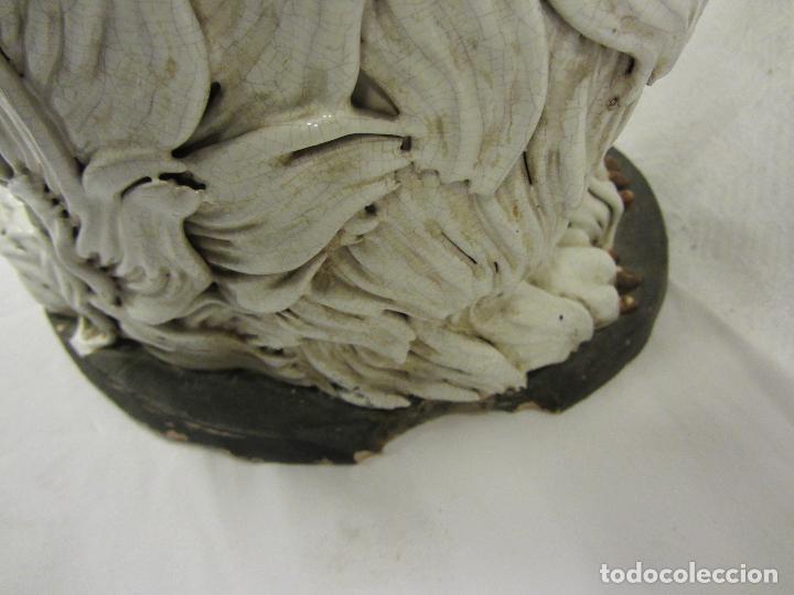Antigüedades: Perro de gran tamaño en ceramica - Foto 10 - 122706927
