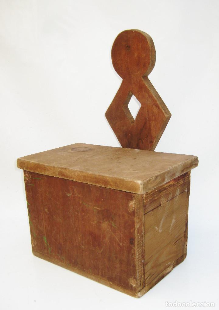 BONITO MUEBLE ANTIGUO CUCHARERO IDEAL DECORACION COCINAS ANTIGUAS VINTAGE (Antigüedades - Muebles Antiguos - Auxiliares Antiguos)