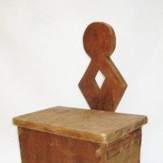 Antigüedades: BONITO MUEBLE ANTIGUO CUCHARERO IDEAL DECORACION COCINAS ANTIGUAS VINTAGE. Lote 122741707