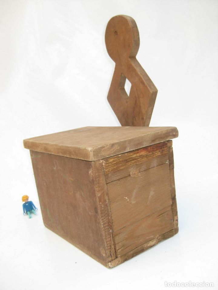 Antigüedades: BONITO MUEBLE ANTIGUO CUCHARERO IDEAL DECORACION COCINAS ANTIGUAS VINTAGE - Foto 4 - 122741707