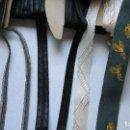 Antigüedades: 7 PIEZAS DE ANTIGUA CINTA DISTINTOS DIBUJOS Y COLORES.. Lote 122753523