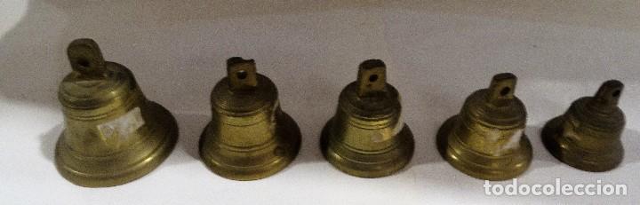 Antigüedades: CAMPANITAS DE BRONCE. - Foto 2 - 122814559
