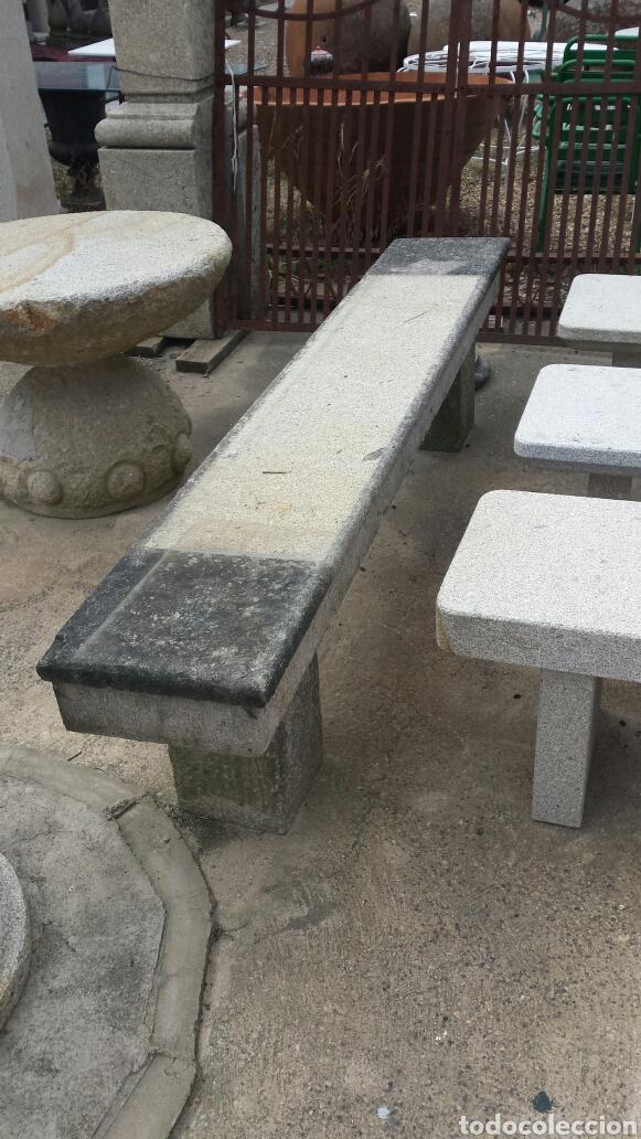 Antigüedades: banco piedra de granito pecho de paloma. varios. - Foto 11 - 118244674