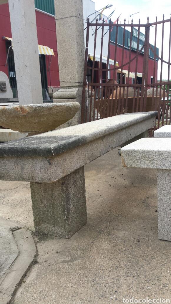 Antigüedades: banco piedra de granito pecho de paloma. varios. - Foto 12 - 118244674
