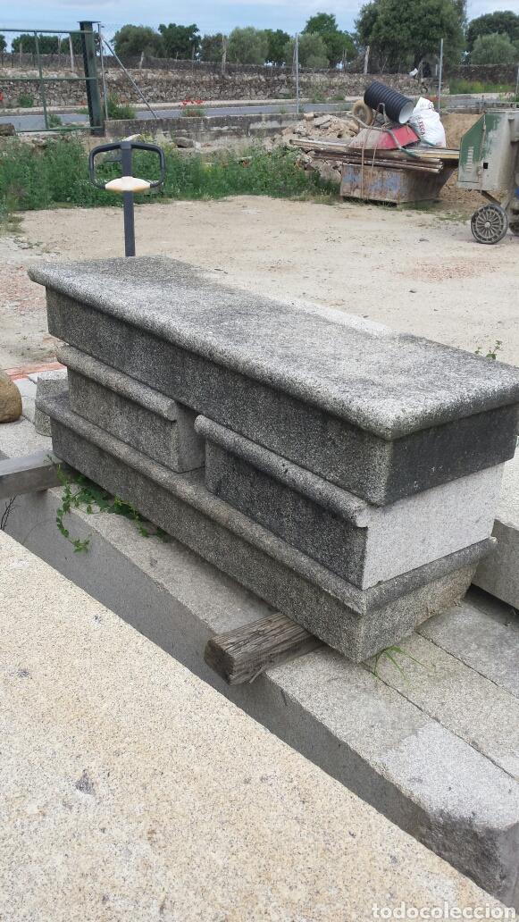 Antigüedades: banco piedra de granito pecho de paloma. varios. - Foto 13 - 118244674