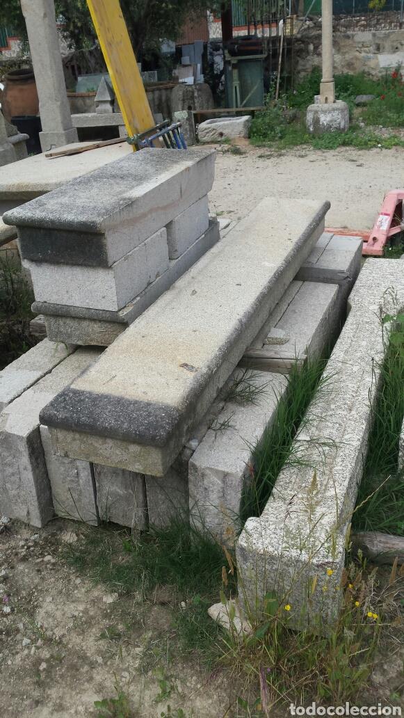 Antigüedades: banco piedra de granito pecho de paloma. varios. - Foto 14 - 118244674