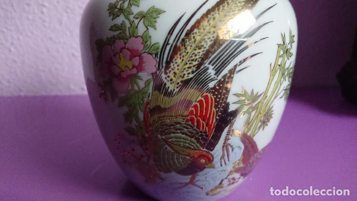 Antigüedades: ANTIGUO TIBOR PORCELANA TAIWANESA - Foto 2 - 122907299