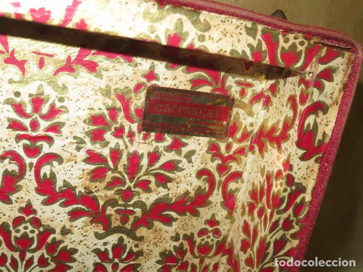 Antigüedades: GRANDE CAJA MUSICAL ANTIGUA DE MUSICA ESTUCHES CARRASCAL CARAVACA DE LA CRUZ - Foto 5 - 122940683