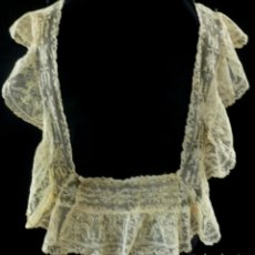 Antigüedades: ANTIGUO ENCAJE S.XIX. Lote 122957503