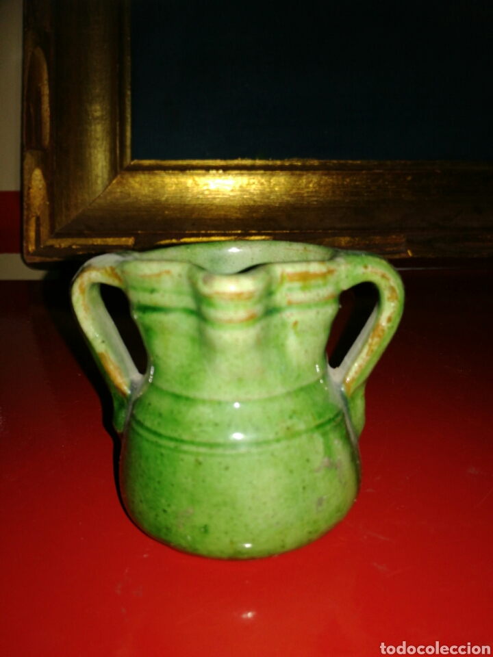 PEQUEÑO HERRAO DE ORDEÑO CERÁMICA DE UBEDA (Antigüedades - Porcelanas y Cerámicas - Úbeda)