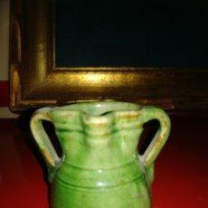 Antigüedades: PEQUEÑO HERRAO DE ORDEÑO CERÁMICA DE UBEDA. Lote 122982030