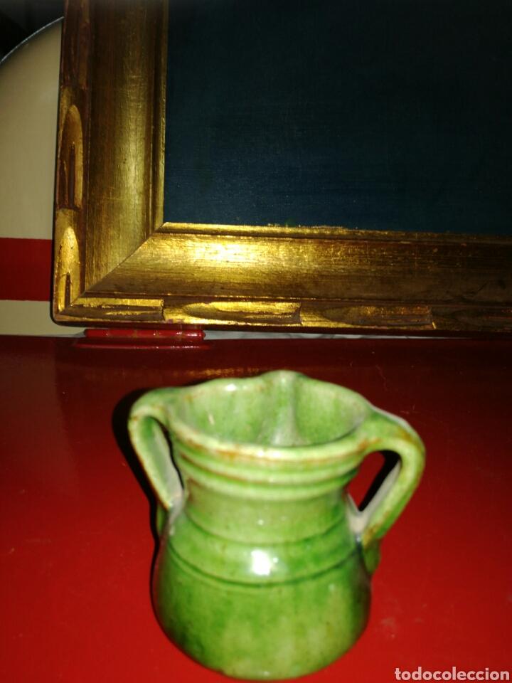 Antigüedades: Pequeño herrao de ordeño cerámica de Ubeda - Foto 2 - 122982030