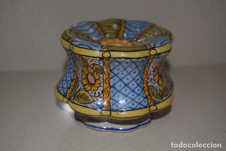 TALQUERA DE CERAMICA (Antigüedades - Porcelanas y Cerámicas - Otras)