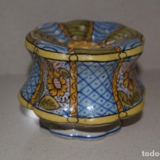 Antigüedades: TALQUERA DE CERAMICA. Lote 123017371