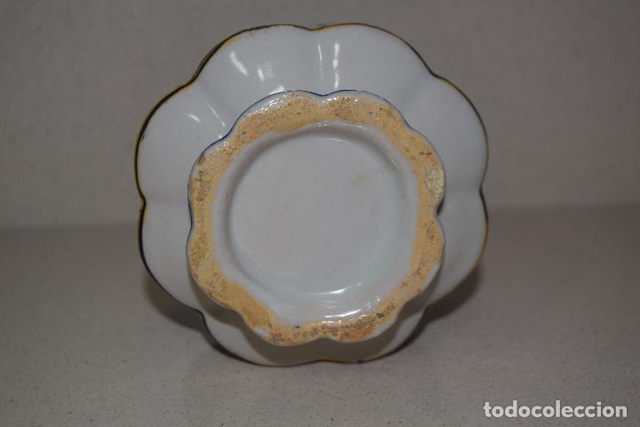 Antigüedades: talquera de ceramica - Foto 3 - 123017371