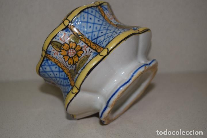 Antigüedades: talquera de ceramica - Foto 4 - 123017371