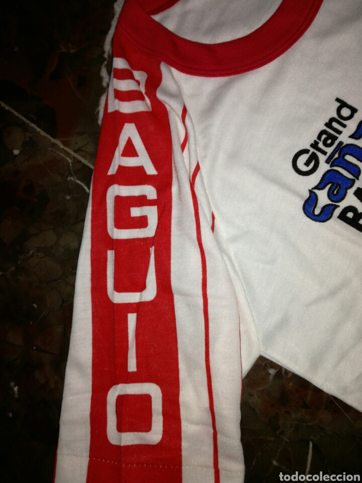 Antigüedades: Camiseta Philippine años 80 si uso - Foto 4 - 123024387