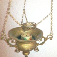Antigüedades: LAMPARA VOTIVA.. Lote 123073200