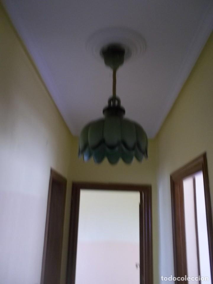 Antigüedades: LAMPARA DE CERAMICA-AÑOS 70 - Foto 4 - 123081931