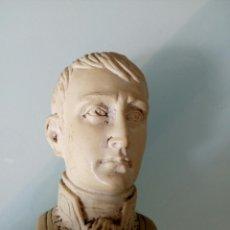 Antigüedades: ESCULTURA DE NAPOLEÓN CÓNSUL DE RESINA AÑOS 60, VINTAGE, FIGURA. Lote 123107636