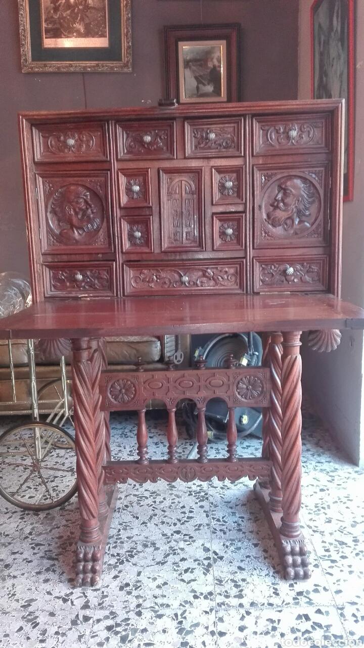 BARGUEÑO S.XIX (Antigüedades - Muebles Antiguos - Bargueños Antiguos)