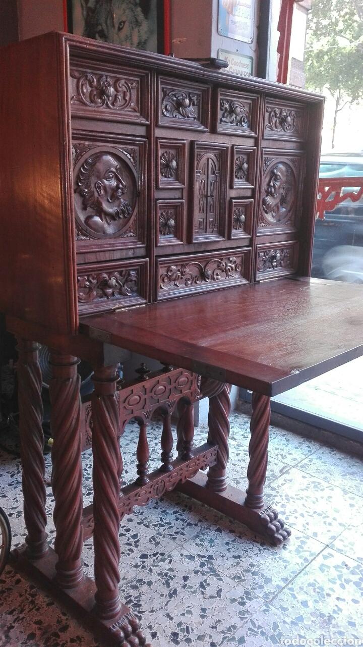 Antigüedades: Bargueño S.XIX - Foto 2 - 123112646