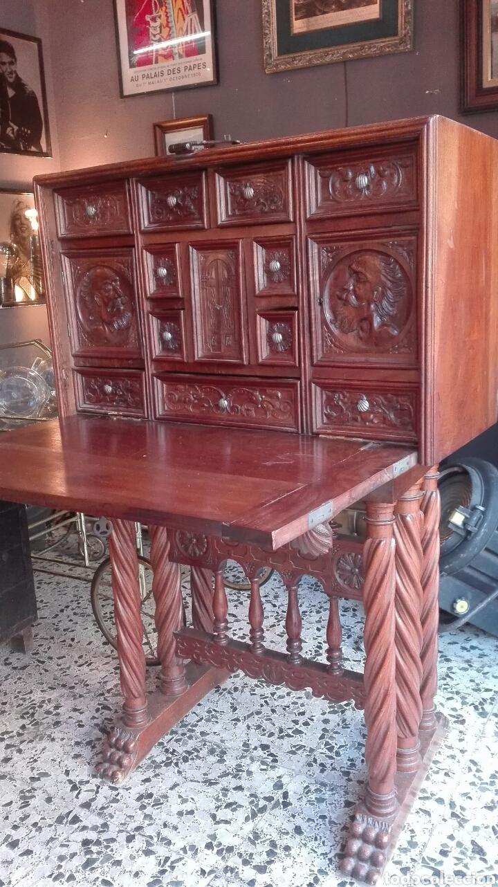 Antigüedades: Bargueño S.XIX - Foto 3 - 123112646
