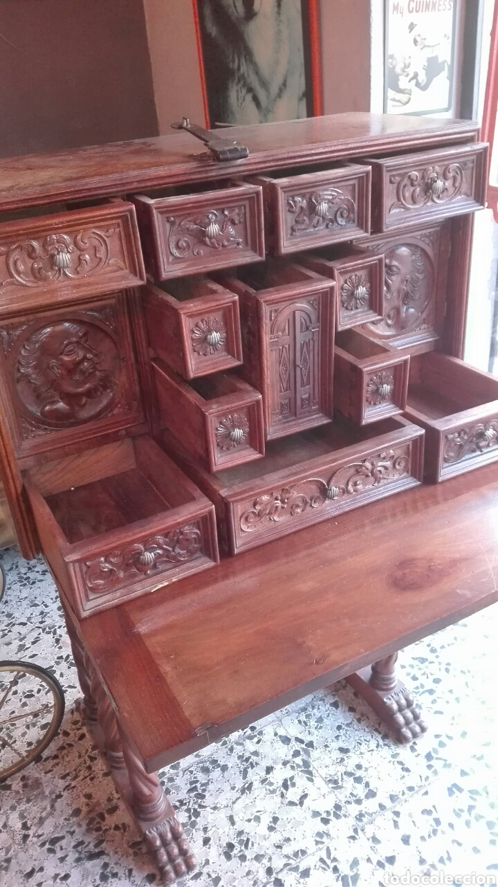 Antigüedades: Bargueño S.XIX - Foto 10 - 123112646