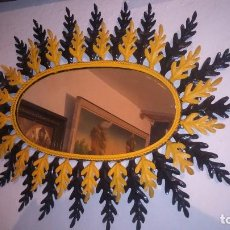 Antigüedades: ANTIGUO ESPEJO SOL. Lote 123114251