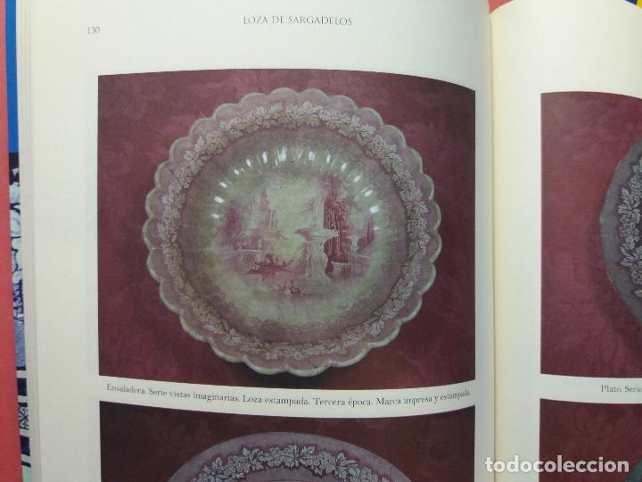 Antigüedades: Sargadelos frutero ensaladera rosa vistas imaginarias - Foto 6 - 123116291