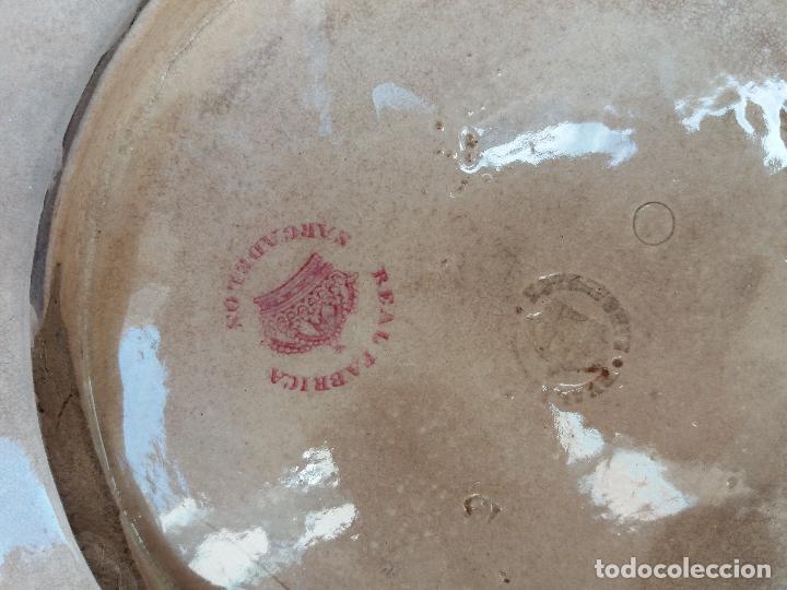 Antigüedades: Sargadelos frutero ensaladera rosa vistas imaginarias - Foto 7 - 123116291
