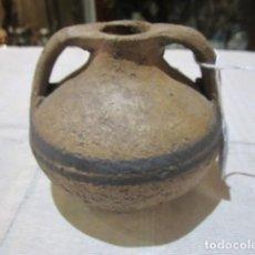 Antigüedades: VASIJA PEQUEÑA DE BARRO. 10 CMS. DE ALTURA X 10 DE DIÁMETRO APROX.. Lote 123120655