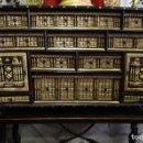 Antigüedades: BARGUEÑO DE HUESO- PAN DE ORO- BRONCES-HERRAJES-MATERIALES, SIGLO XIX, FABRICADO MEDIADOS XX.. Lote 123123887