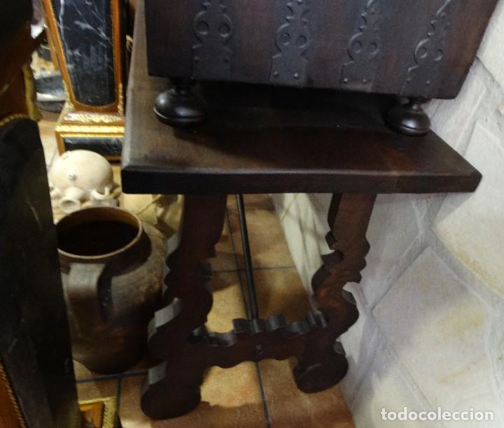 Antigüedades: Bargueño de Hueso- Pan de oro- Bronces-Herrajes-Materiales, siglo XIX, fabricado mediados XX. - Foto 8 - 123123887