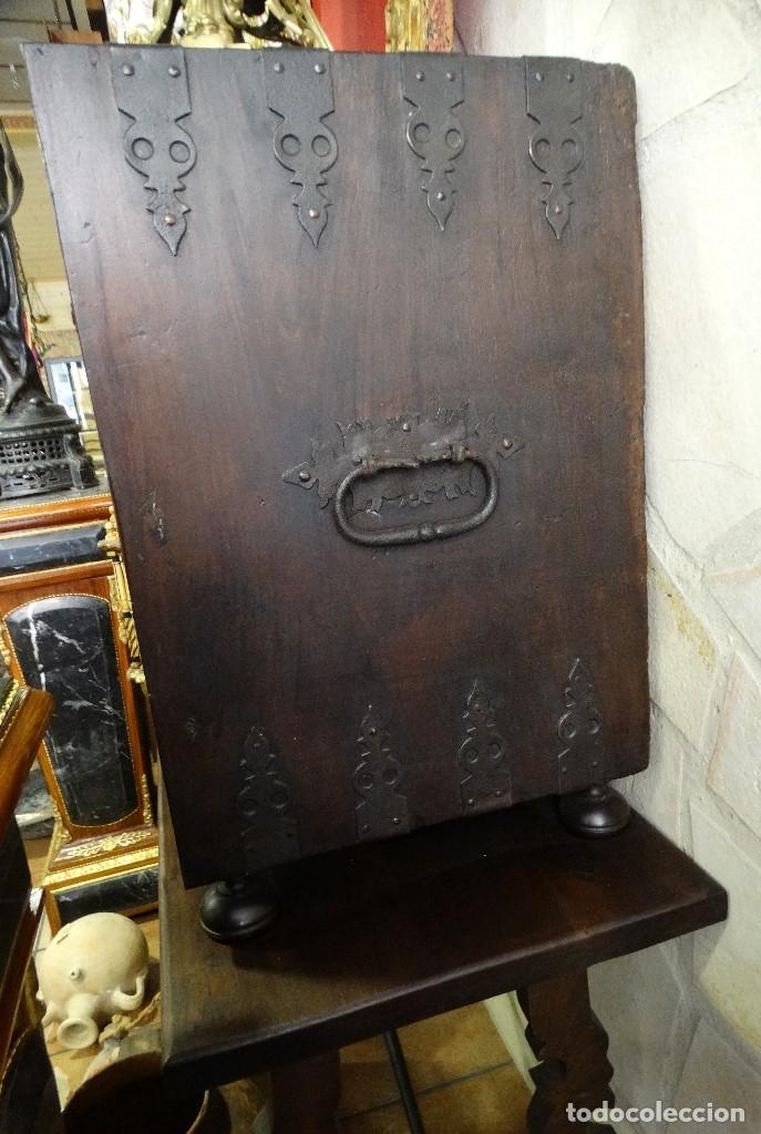 Antigüedades: Bargueño de Hueso- Pan de oro- Bronces-Herrajes-Materiales, siglo XIX, fabricado mediados XX. - Foto 9 - 123123887