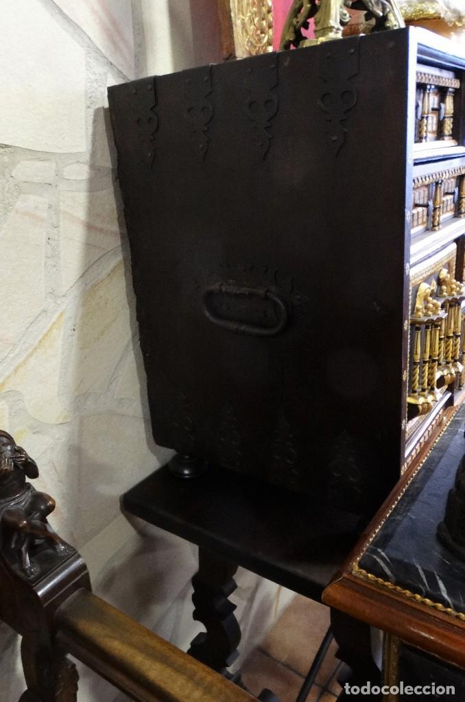 Antigüedades: Bargueño de Hueso- Pan de oro- Bronces-Herrajes-Materiales, siglo XIX, fabricado mediados XX. - Foto 11 - 123123887